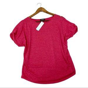Stitch fix Colette cold shoulder knit top small